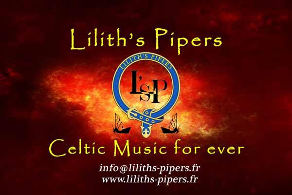Lilith's Pipers groupe de musique cetlique Toulon Cornemuses Bombardes Percussions