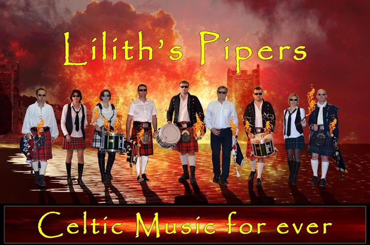 Lilith's Pipers, groupe de cornemuse Toulon