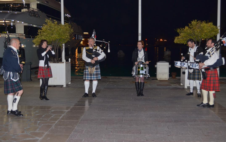 Concert celtique Lilith's Pipers Saint Patrick Cornemuse Toulon