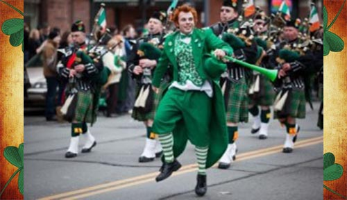 St Patrick Toulon 2016 Lilith's Pipers cornemuse